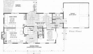 lancaster main level floor plan